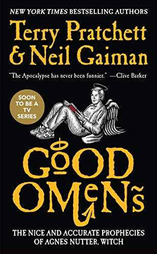 Good Omens  The Nice and Accurate Prophecies of Agnes Nutter Witch Colori assortiti  copertina bianca o nera