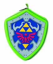 Sacoche universelle grand modèle The Legend of Zelda Hylian Shield pour console Nintendo 3DS, 2DS, New 3DS XL...