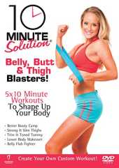 10 Minute Solution - Belly, Butt And Thigh Blasters [DVD] [2009] [Reino Unido]