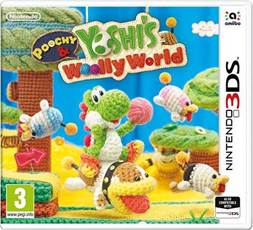 Poochy and Yoshi's Woolly World pour Nintendo 3DS