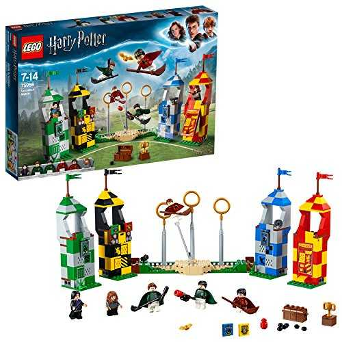 LEGO Harry Potter - Le match de Quidditch - 75956 - Jeu de Construction
