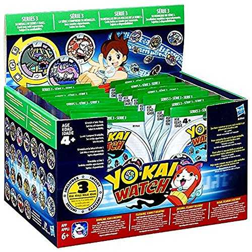Yo-Kai Watch Medals Blind Bag Series 3 (24x Value Pack)