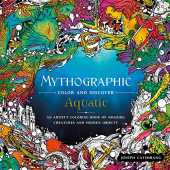 Aquatic: An Artist's Coloring Book of Underwater Illusions and Hidden Objects