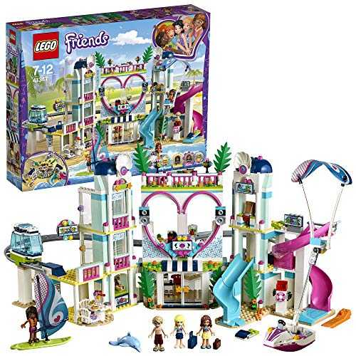 LEGO Friends - Le complexe touristique d´Heartlake City - 41347 - Jeu de Construction