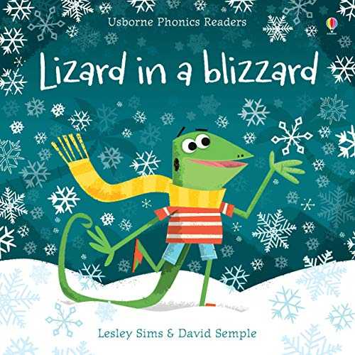 Lizzard in a Blizzard