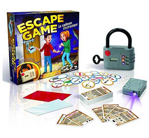 Dujardin Jeux - Escape Game - Le Cadenas Electronique