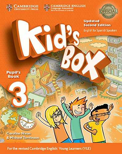 Kid's Box Level 3 Pupil's Book Updated English for Spanish Speakers Second Edition - 9788490360828