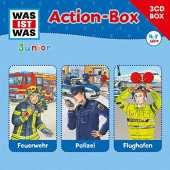 Was Ist Was Junior - 3-CD Hörspielbox Vol.1 Action