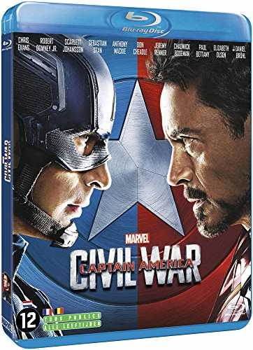 Captain America : Civil War [Blu-Ray] [Import Italien]